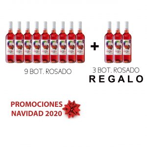 Pack 9x750ml Rosado Lagar del Duque + 3x750ml REGALO