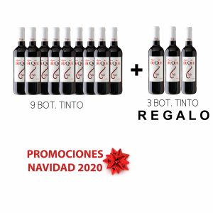 Pack 9x750ml Tinto Lagar del Duque + 3x750ml GRATIS